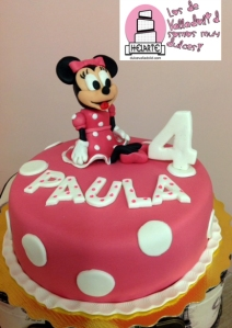Tarta Minnie Valladolid